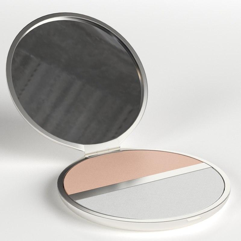 3D makeup pocket powder