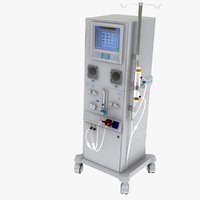 3D dialysis machine