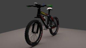 mountain bike pacific invert 3D model
