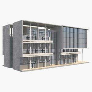 building 7 3D model