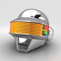 3D daft punk thomas model
