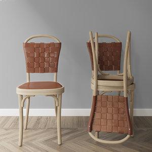 jonas bohlins chair vilda 3D
