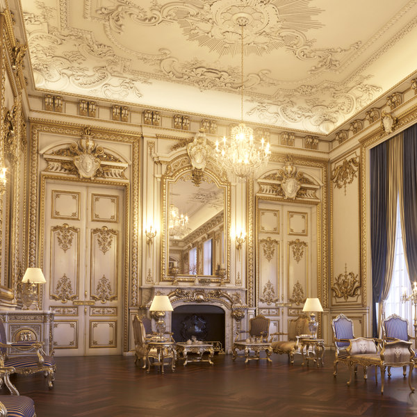 interior scene vip lounge 3d max