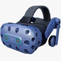 HTC Vive Pro Eye Low Poly