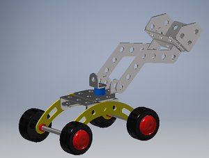 mechanical shovel 3D model