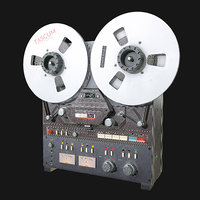 Reel to Reel Recorder VR / AR / low-poly 3d model