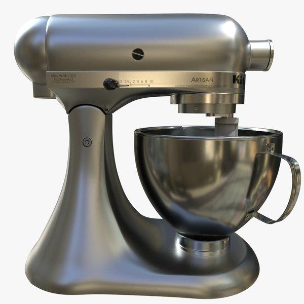 kitchen aid mixer 3D model
