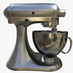 kitchen aid mixer 3D model