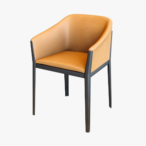 cassina slim chair 3D