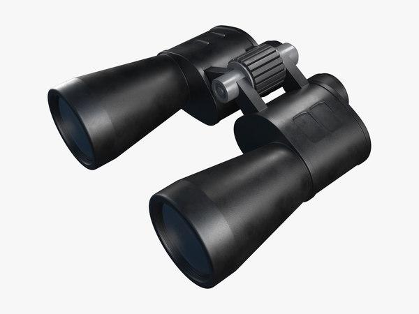 3D binoculars pbr