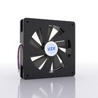 3D cooler fan model