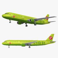 a321 airplane 3D