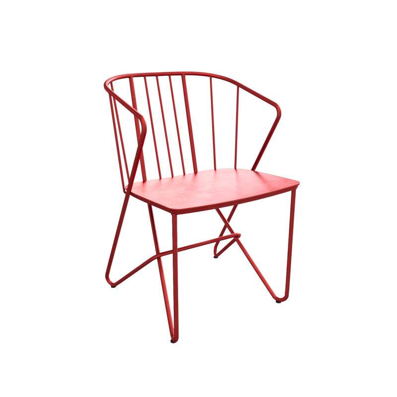 3D flower outdoor chair fermob model