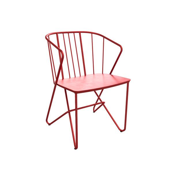3D flower outdoor chair fermob model