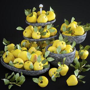 set apples 3D