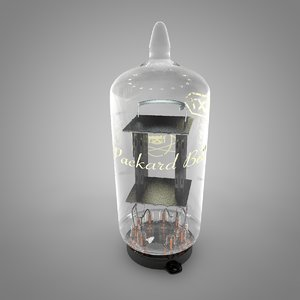 vacuum tube packard-bell-rca-12ax7 l061 model