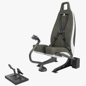 pilot seat 3D
