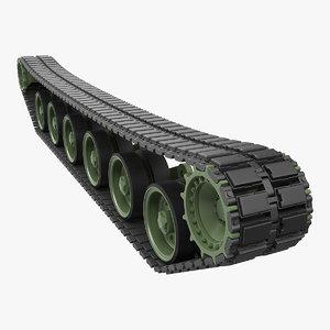tank tread model