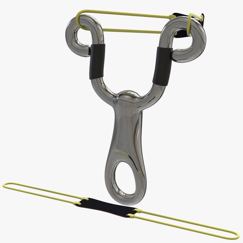 stainless steel slingshot model