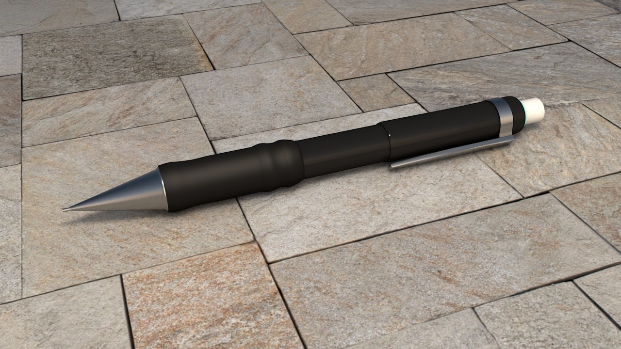 mechanical pencil 3D model