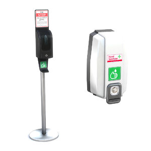 hand sanitizer dispensers 3D model