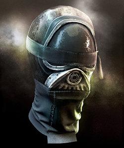 protective mask model
