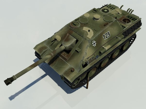 3D model ww2 german