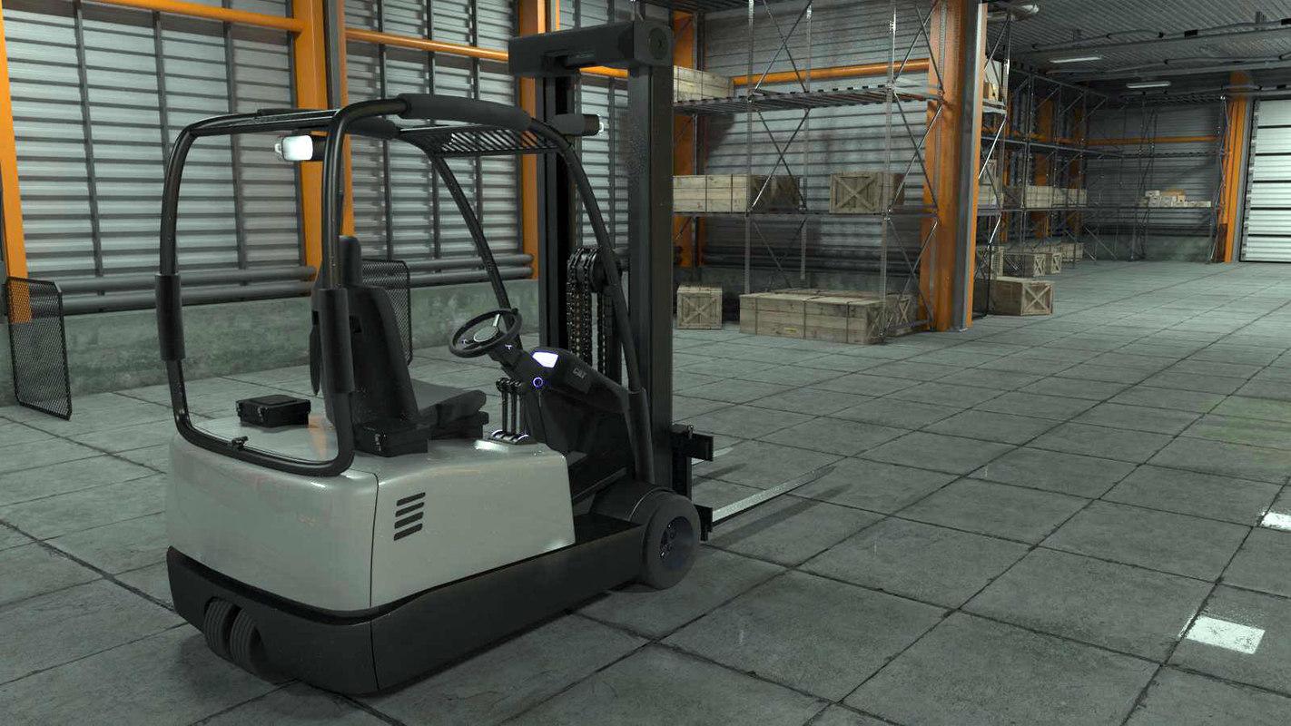 3D warehouse boxes safes model