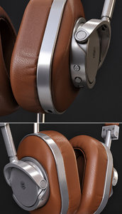 headphones dynamic master 3D model