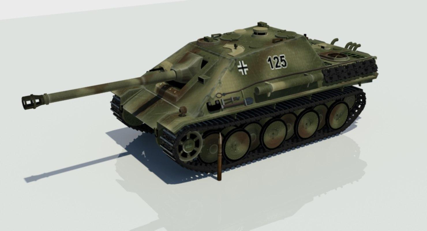 3D model ww2 german