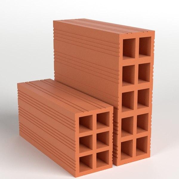 fm3d bricks 3D model