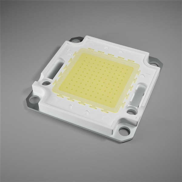 led chip board cob 3D model