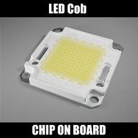 led chip board cob 3D model