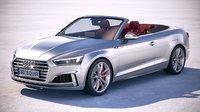 3D audi s5 cabriolet model