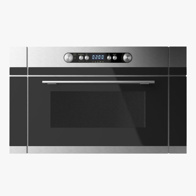 ikea nutid microwave oven 3d 3ds