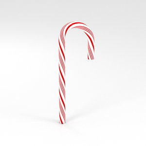 candy cane 3D model