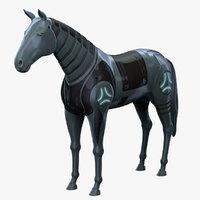 3D robot horse