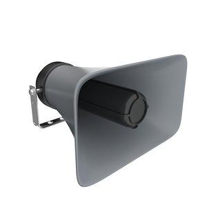 3D loudspeaker speak speaker