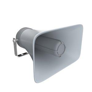 loudspeaker speak speaker 3D model