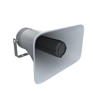 3D model loudspeaker speak speaker