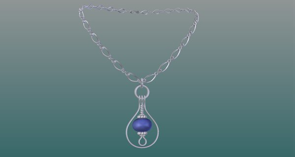 3D model necklace