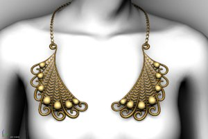 3D necklace