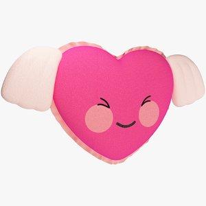 stuffed heart model