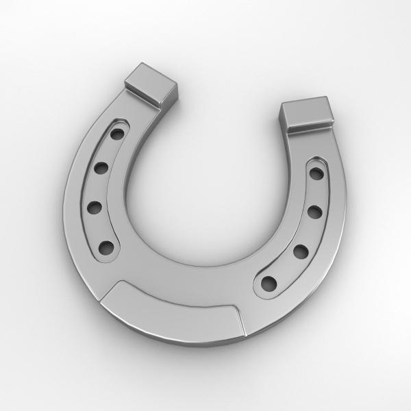 horseshoe shoe horse 3D model