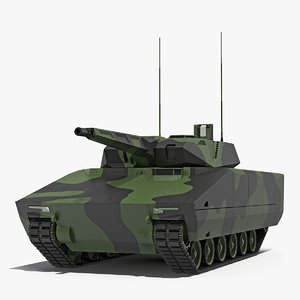 infantry fighting vehicle lynx 3D