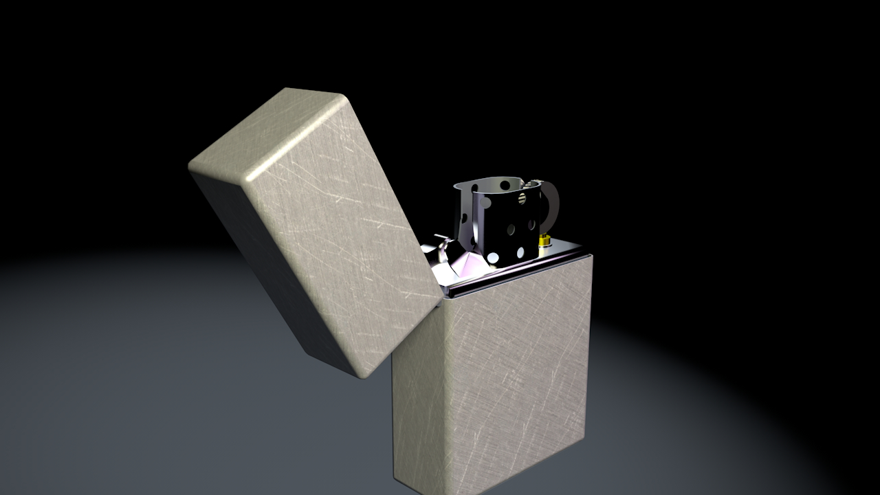 zippo 3D model