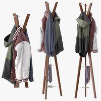 3D hanny coat stand