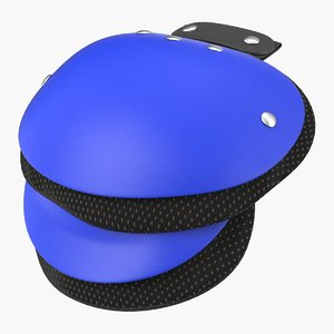 3D model shoulder pad