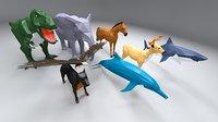 3D animal polys