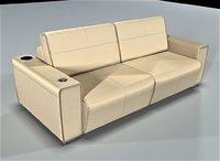 divanger stark sofa 3D